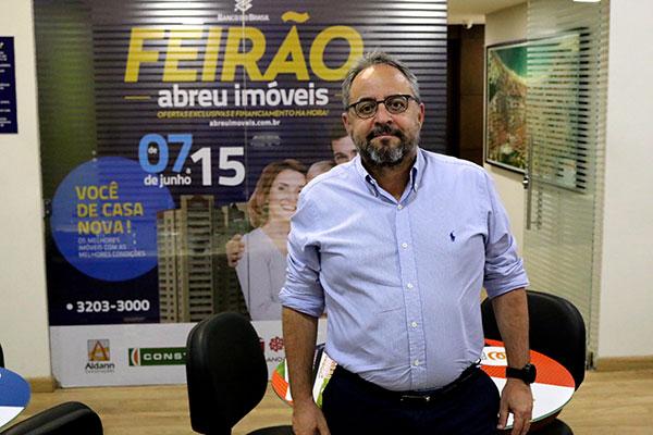 Ricardo Abreu, diretor da Abreu Imóveis, destaca que feirão de imóveis do Banco do Brasil é inédito e recheado de oportunidades