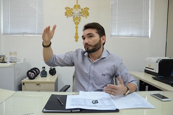 Josivan Cardoso, presidente do Instituto de Gestão das Águas do Rio Grande do Norte (Igarn)