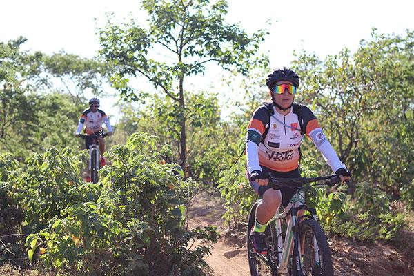 Ciclistas participaram, no domingo, do Circuito Eco Vbike sediado em Caicó