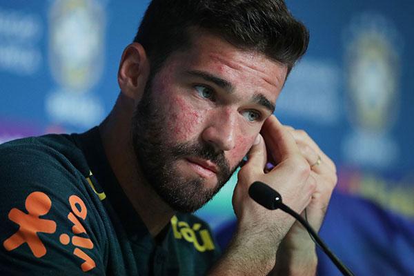 O goleiro da Seleção Brasileira, Alisson falou sobre a expectativa dele e do grupo de atletas para a estreia na Copa do Mundo da Rússia
