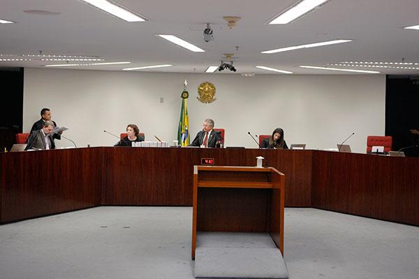 """Presidente da Primeira Turma do STF, Marco Aurélio seguiu o voto do relator pelo """"envio da ação penal à primeira instância"""""""