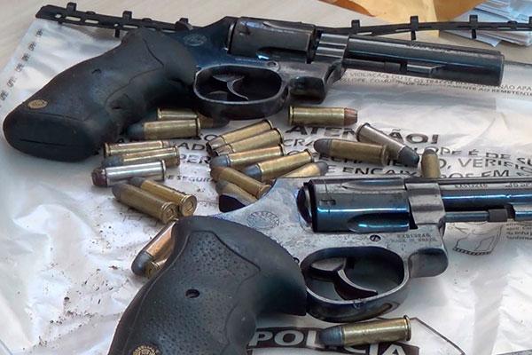 Mais de 85% dos homicídios no Estado são praticados com uso de armas de fogo, segundo o Obvio