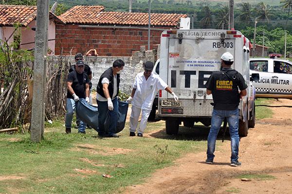 Ceará-Mirim, município que registrou chacinas no ano passado, tem a segunda maior taxa de homicídios do Brasil: 129,5