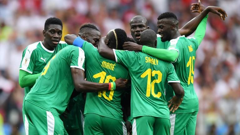 Senegaleses comemoraram resultado diante dos europeus