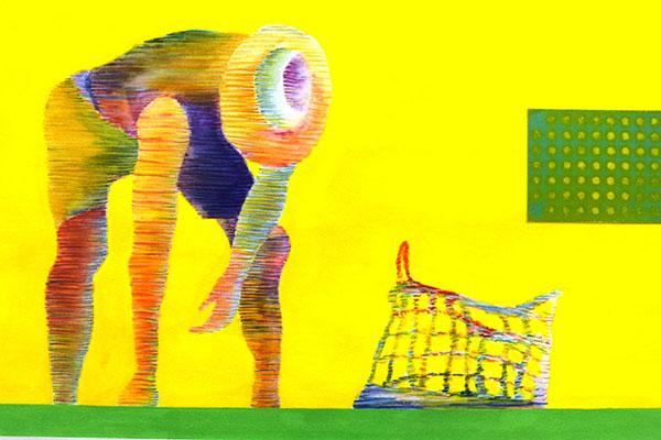 Eberson Rolim é artista oriundo da geração do CLAV