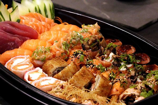 No Kojin trabalha-se a cozinha japonesa tradicional, com um toque moderno