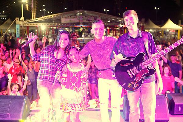 Encerramento teve show de Alane, Gabriel, Elizaldo e Mila Marinho