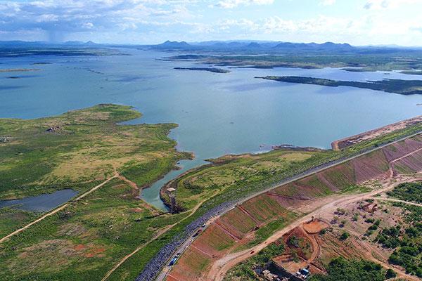 A barragem Armando Ribeiro Gonçalves está com 28,88% de sua capacidade, 10,9% a mais do que no mesmo período de 2017