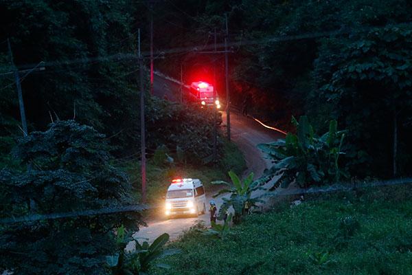 Resgate foi antecipado por causa das chuvas de monções previstas para esta semana na região
