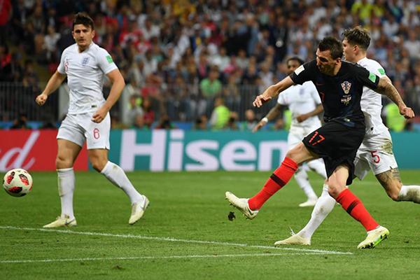 Mandzukic marcou o gol histórico que leva a Croácia à final da Copa pela primeira vez