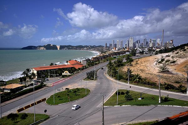 VIA COSTEIRA: Movimentação nos hotéis reduziu ao longo do ano passado e, de acordo com ABIH, primeiro semestre deste ano apresentou melhora