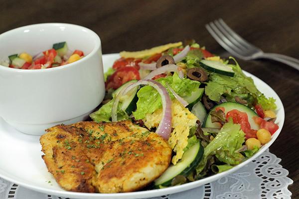 Casa estreou menu novo esta semana, com destaque especial para as saladas