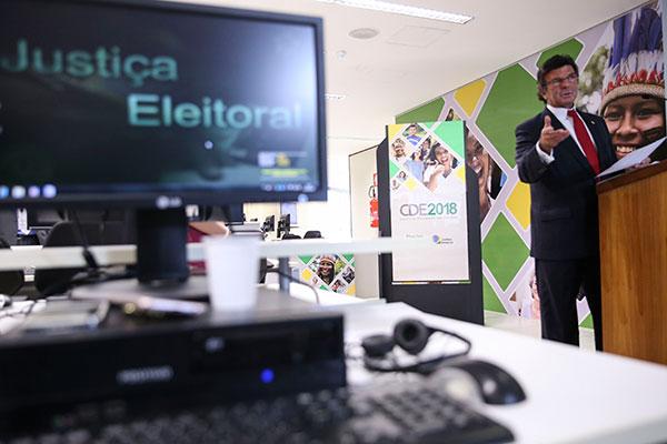 Luiz Fux apresentou os dados do Tribunal Superior Eleitoral sobre o perfil do eleitor brasileiro