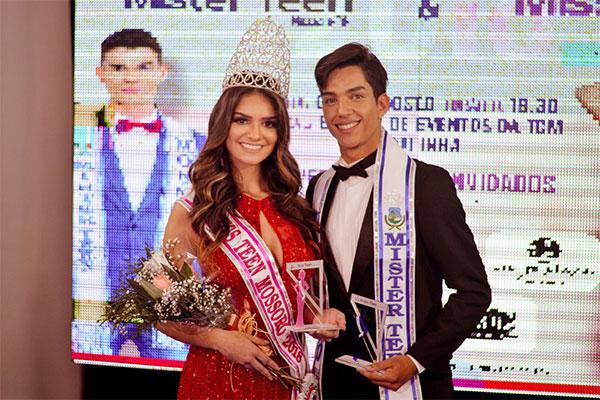 Beatriz Lima e João Marcos, Miss e Mister Teen Mossoró 2018