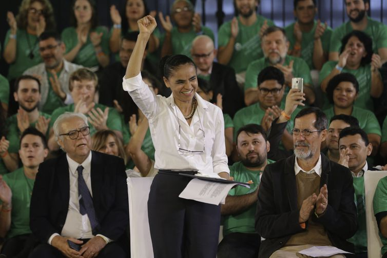 Marina Silva vai disputar a Presidência da República pela terceira vez e pelo terceiro partido diferente. Dessa vez, pela Rede