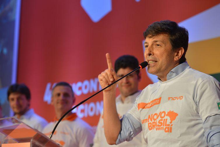 João Amoedo é o candidato do Partido Novo