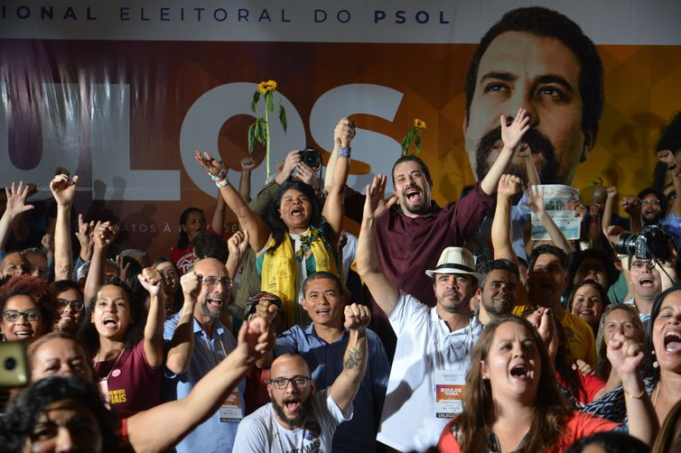 Guilherme Boulos vai disputar Presidência