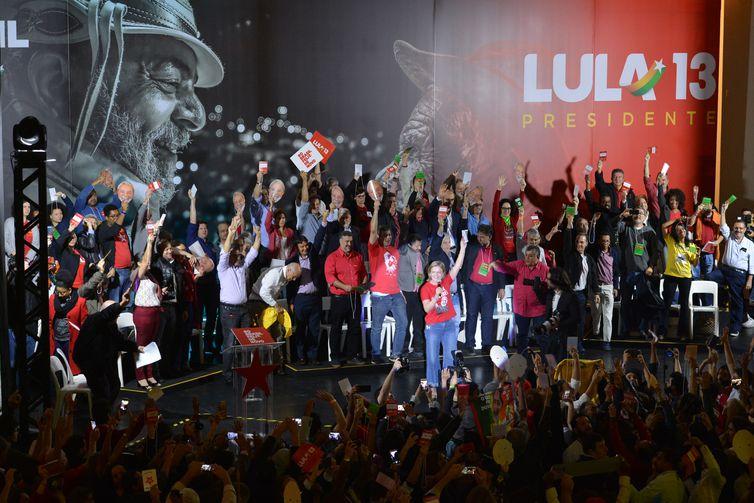 PT homologa candidatura de Lula à Presidência; ex-presidente está preso