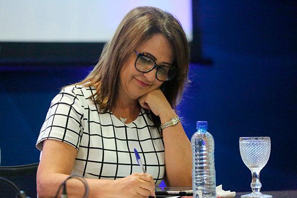 Kátia Abreu, que foi ministra de Dilma Rousseff, ficou como vice na chapa de Ciro Gomes