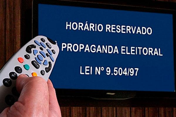 Horário eleitoral gratuito vai começar, no rádio e na TV, a partir do dia 31 de agosto