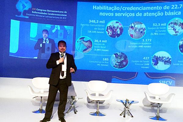Secretário de Atenção à Saúde do Ministério da Saúde, Francisco de Assis, apresentou os avanços no SUS