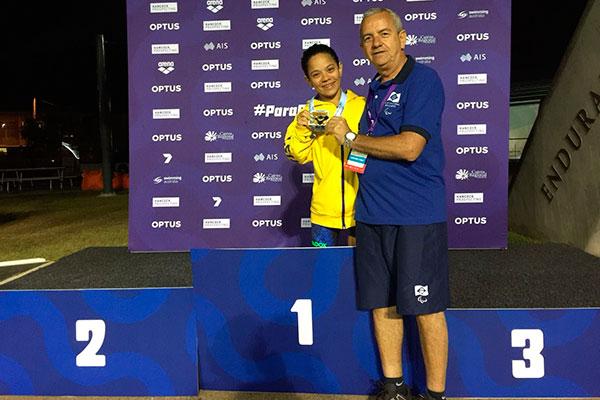 Joana Neves e Roberto Vital comemoram primeiro ouro potiguar