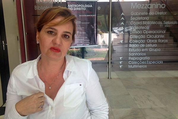 Juliana Melo, professora do Departamento de Antropologia da UFRN