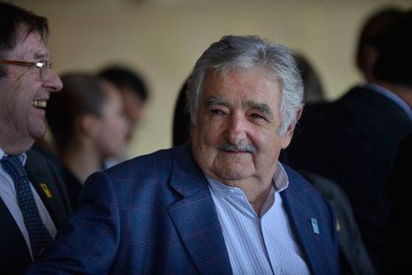 O ex-presidente do Uruguai, José Mujica