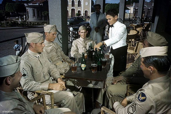 Cenas do cotidiano de Natal na Segunda Guerra mundial