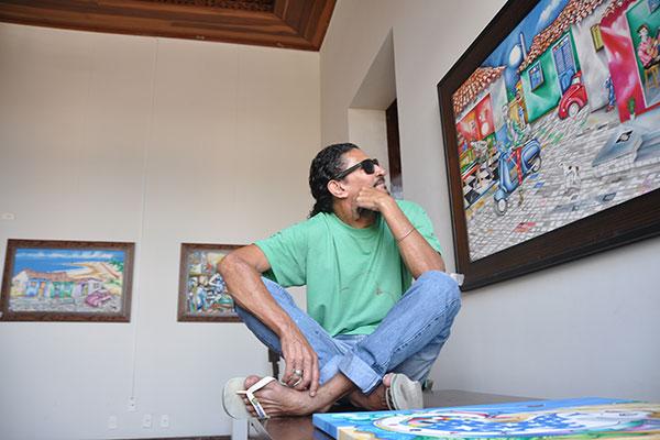 Resgate da memória famíliar: Marcelus Bob criará pinturas de aviões da Segunda Guerra. A mostra contará com peças do seu  pai, Farias Artesão, que faz réplicas das aeronaves em madeira