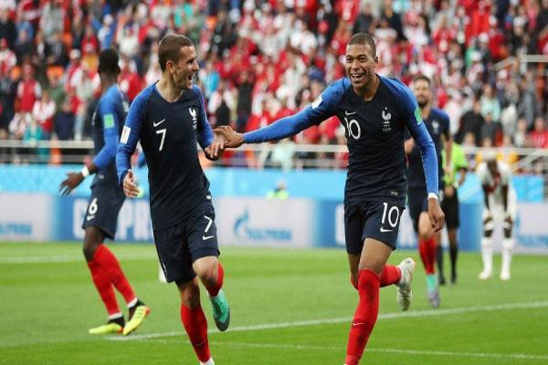 5bcef7f30b Seleção francesa lidera o ranking da Fifa com 1.726 pontos. A França é a  atual