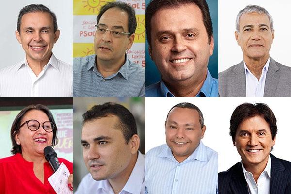 Candidatos ao Governo do RN
