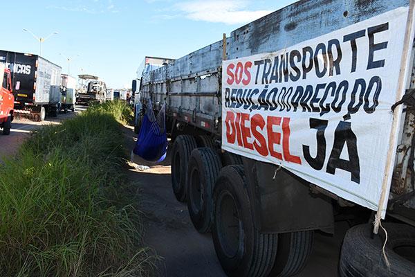 Caminhoneiros farão protesto no dia 12 de setembro em Brasília