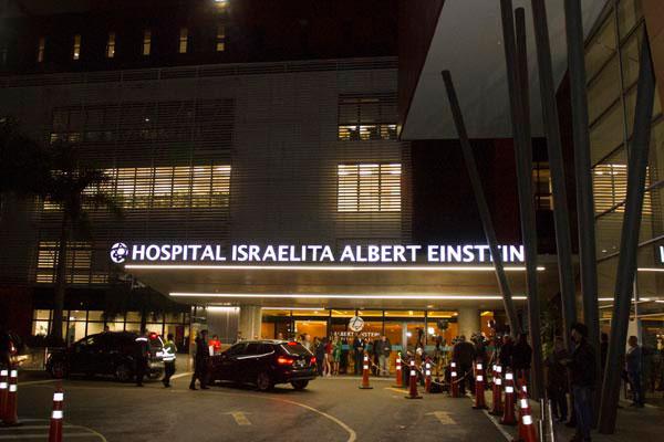 Hospital Albert Einstein, onde está internado Jair Bolsonaro