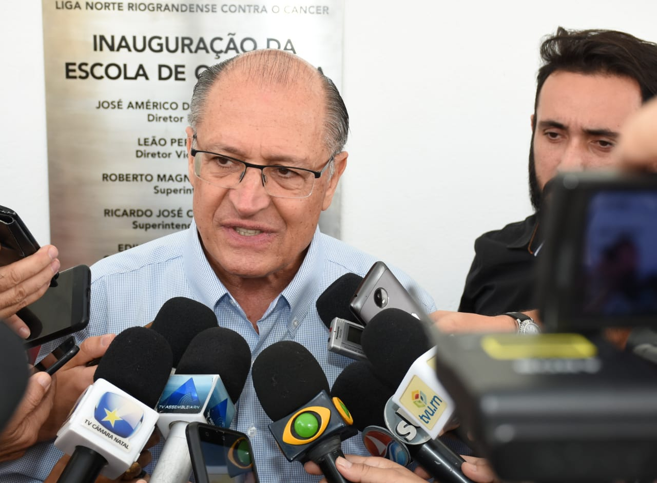 Alckmin cumpriu agenda em Natal e Extremoz nesta sexta-feira