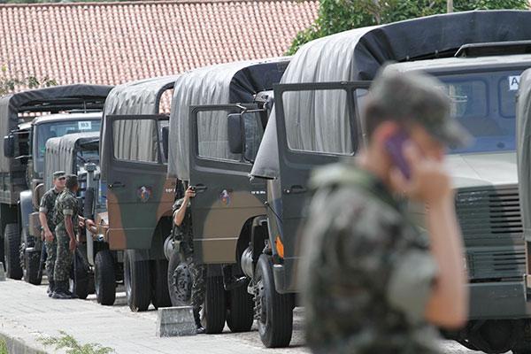 Exército estará presente em cidades do interior do RN para garantir segurança no dia da eleição