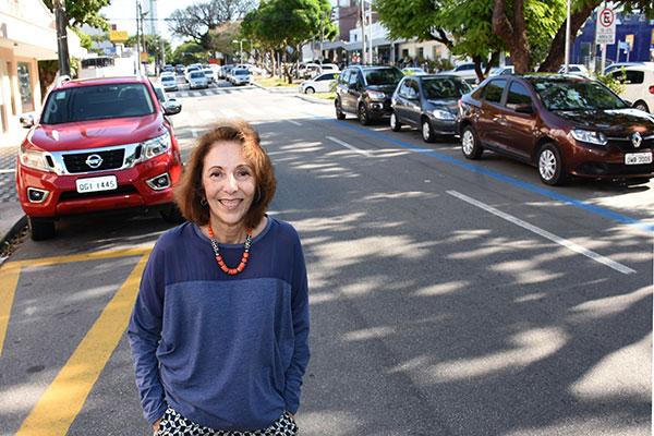 Avenida Afonso Pena é completamente diferente de quando a escritora e jornalista Rejane Cardoso viveu com a família