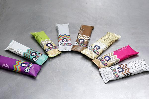 Picolés da marca Piccolo são comercializados em várias lojas e empórios de Natal e outras cidades