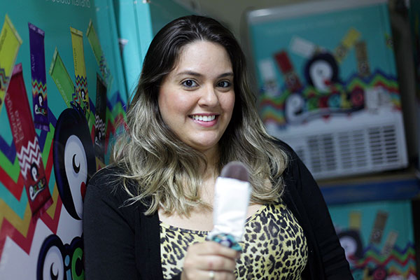 Gabriela Melo se especializou no gelato italiano