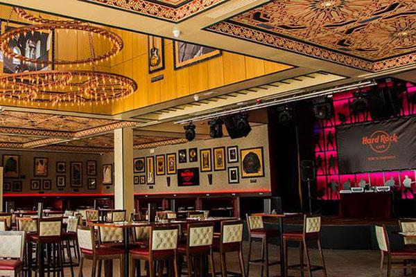 Hotel no Rio Grande do Norte terá restaurante Hard Rock Cafe, similar ao construído em Lisboa (foto) no início dos anos 2000