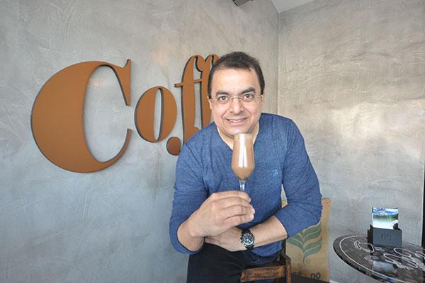 Advogado, jornalista e empresário, Eugênio Ribeiro resolveu investir em uma paixão e criou grife de cafés