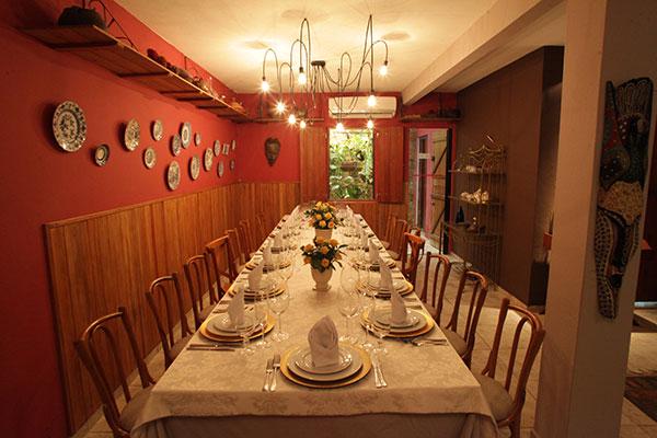 Casa Haroldo é projeto gastronômico personalizado, na casa do anfitrião