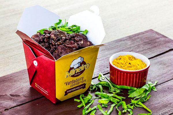 Feijoada em caixinha para degustar a dois ou mais pessoas