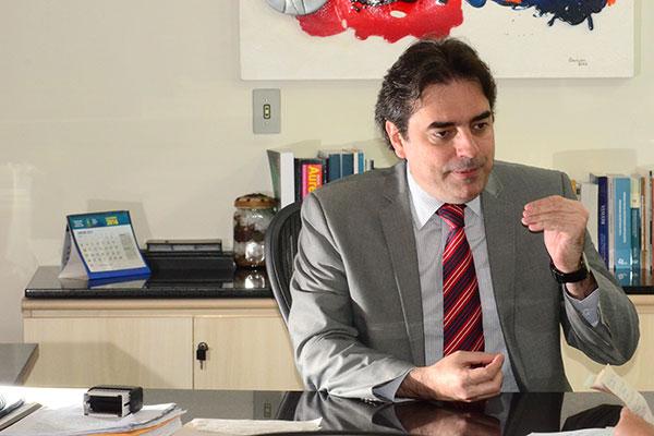 André Horta explica que operações de crédito serão acordadas no Plano de Promoção do Equilíbrio Fiscal