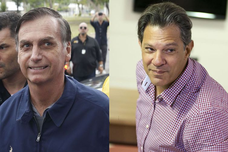 Jair Bolsonaro permanece em casa e Haddad vai a Curitiba