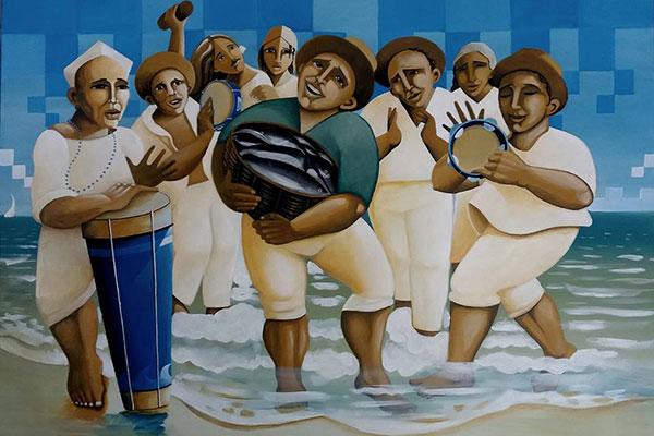Trabalho de Tiago Vicente compõe coletiva na Galeria B-612