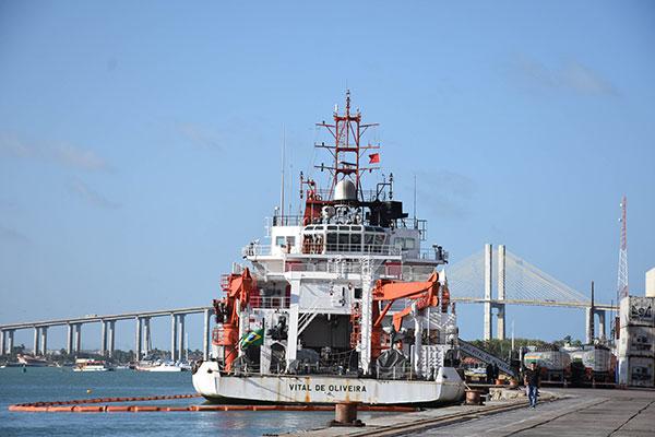 """Público poderá conhecer navio """"Vital de Oliveira"""", um dos mais modernos do mundo"""