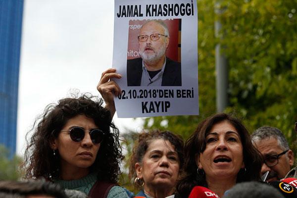 O jornalista entrou no consulado da Arábia e depois não foi mais visto