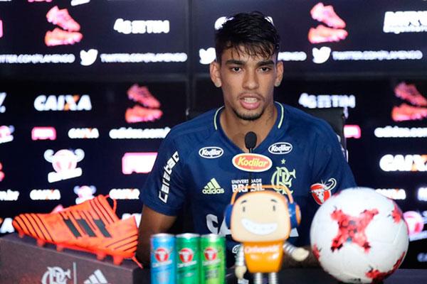 Negociado, Lucas Paquetá está escalado para enfrentar o Flu