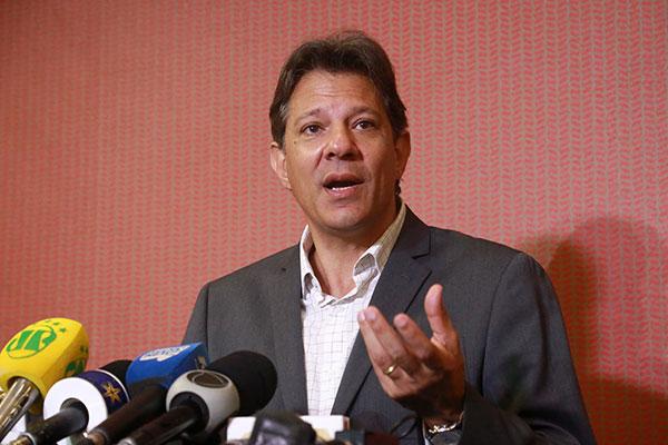Fernando Haddad afirma que Josué Gomes tem as condições e o perfil para o cargo de ministro